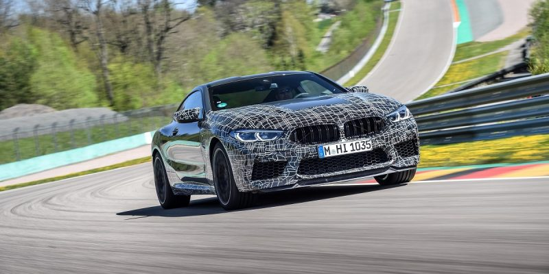 BMW Launches Track Day Infotainment in M8 Coupe – TU Automotive